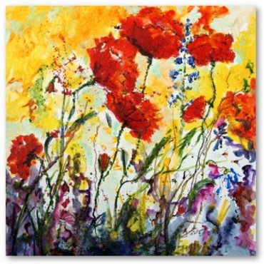 Poppies_provencale_watercolor_on_ca